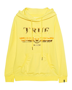 TRUE RELIGION Sequins Cosy Yellow