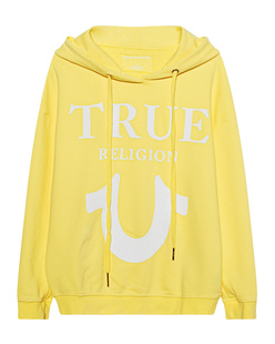 TRUE RELIGION Oversize Cosy Yellow