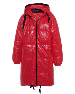 TRUE RELIGION No Down Coat Red