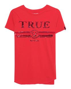 TRUE RELIGION Round Sequins Red
