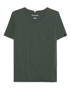 TRUE RELIGION V Neck Clean Khaki