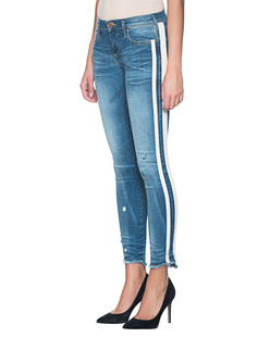 TRUE RELIGION Halle 2Tone Stripe Blue