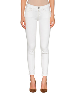 TRUE RELIGION Halle Powerstretch Off White