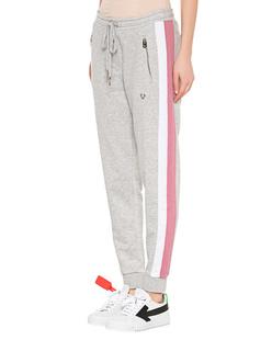 TRUE RELIGION Stripe Sweatpants Grey