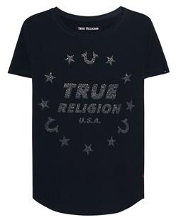 TRUE RELIGION True Stars Black