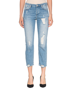 TRUE RELIGION Highrise Straight Cut Denim Blue