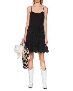 TRUE RELIGION Cotton Dress Black