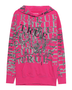 TRUE RELIGION Boyfriend Logo Berry Pink