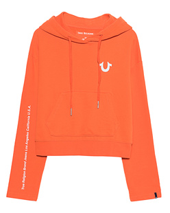 TRUE RELIGION Cropped Cosy Orange