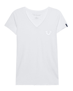 TRUE RELIGION Reflective Shirt White
