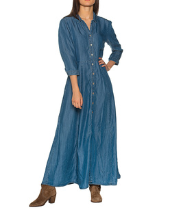 TRUE RELIGION Denim Maxi Blue