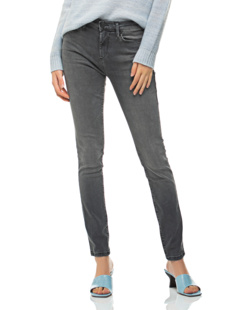 TRUE RELIGION Halle Highrise Washed Out Black