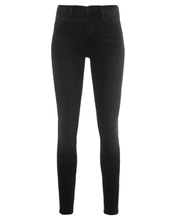 TRUE RELIGION Halle Highrise Black
