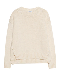 TRUE RELIGION Knit Rounded Off White