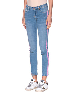 TRUE RELIGION Halle Stripe on Side Blue