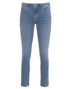 TRUE RELIGION New Halle Crop Blue