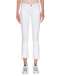 TRUE RELIGION New Halle Kick Flare White