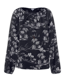 TRUE RELIGION Palm Tree Black