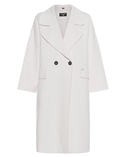 TRUE RELIGION Unlined Coat Off-White