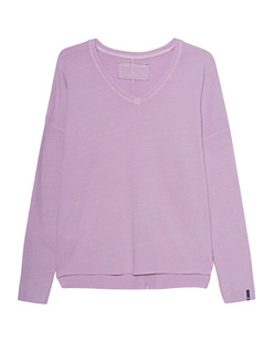 TRUE RELIGION Longsleeve V-Neck Relax Rose