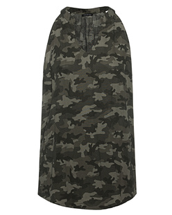 TRUE RELIGION Tank Camouflage Multicolor
