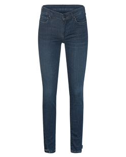 TRUE RELIGION Halle Superstretch Skinny Dark Blue