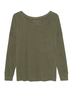 TRUE RELIGION Crew Relax Deep Green