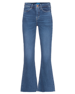 M.i.h JEANS Lou Jean Cropped Bell Blue Fade
