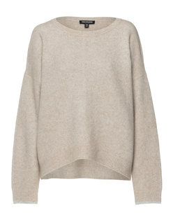 TRUE RELIGION Long Sleeve Comfy Taupe