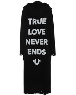 TRUE RELIGION True Love Never Ends Black