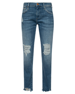 TRUE RELIGION Lit Boyfriend Skinny Blue