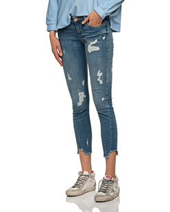 TRUE RELIGION Halle Triangle Trueflex Destroyed Blue