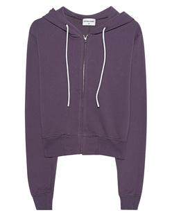 Cotton Citizen Milan Cropped Zipped Violet