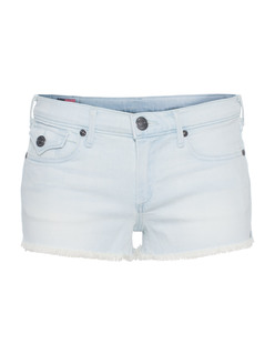 TRUE RELIGION Joey Cut Off Bleached Blues Sunnynook