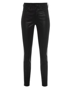 RAG&BONE Leather Eina HR Ankle Black