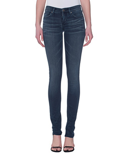 TRUE RELIGION Stella Low Rise Skinny Foggy Blue