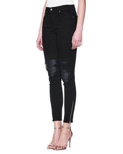 Amiri Leather Patch Black