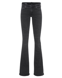 TRUE RELIGION Karlie Bell Moto Smoke Black