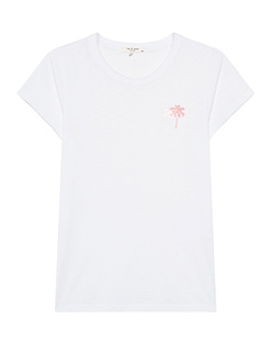 RAG&BONE Logo Palms White