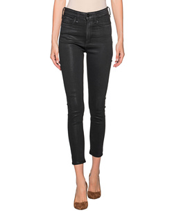 RAG&BONE Nina High Rise Coated Black