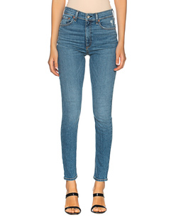 RAG&BONE Nina High Rise Ankle Skinny Blue