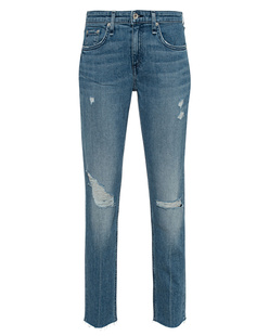 RAG&BONE Aviation Way Low-Rise Slim Bodyfriend Blue
