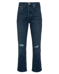 RAG&BONE Maja High Rise Destroyed Blue