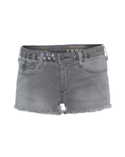 TRUE RELIGION Joey Cut Off Dusty Grey