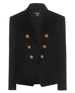 BALMAIN Chic Button Black