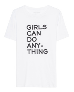 ZADIG&VOLTAIRE Girls Can Do Anything White