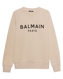 BALMAIN Printed Logo Beige