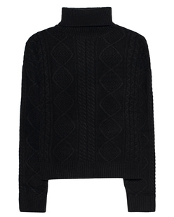 JACOB LEE Turtle Cashmere Black