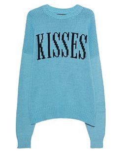 Amiri Kisses Knit Turquoise