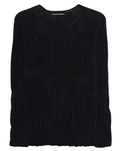 HANNES ROETHER Knit Cotton Black